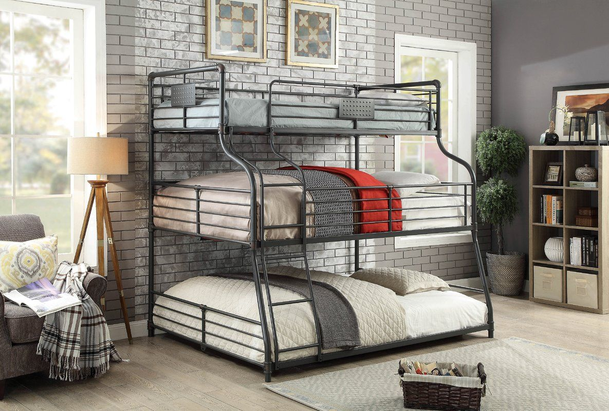 10 Stylish Practical Triple Bunk Beds 2020 Room For Inspo